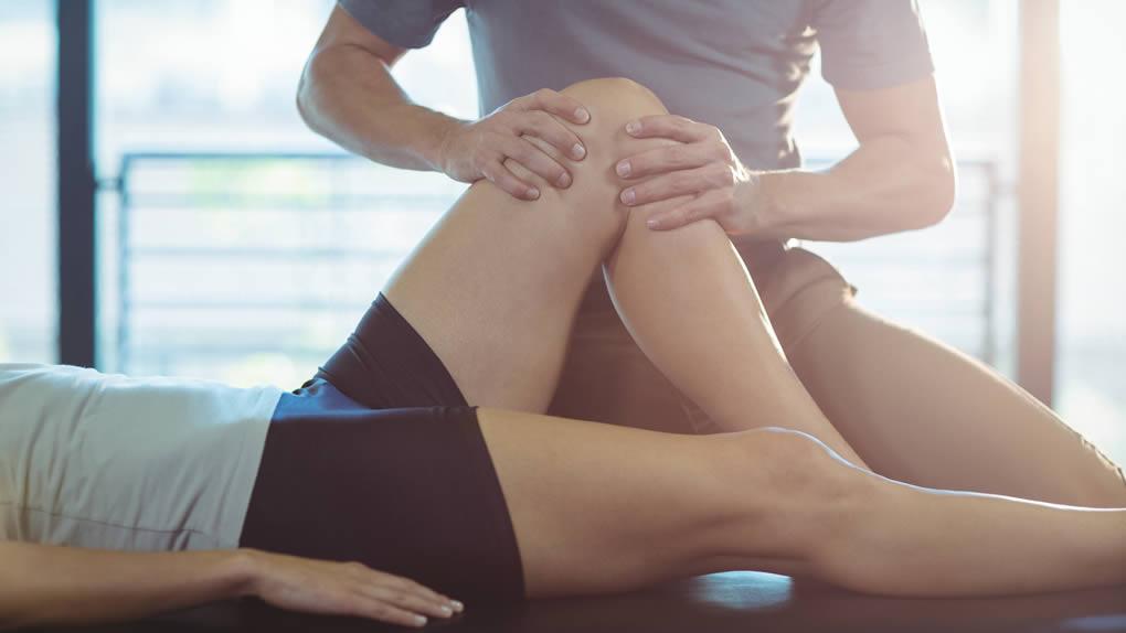 Manuelle Therapie Bein